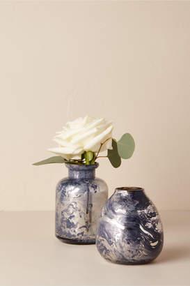 Marbled Mercury Bud Vase