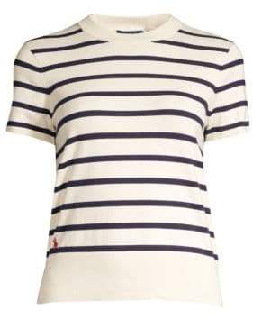 Polo Ralph Lauren Striped Short Sleeve Sweater