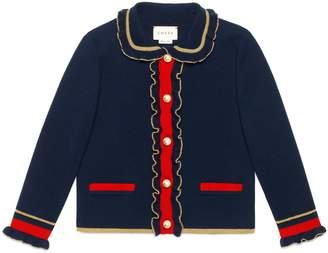 Gucci Children's wool jacket with lurex