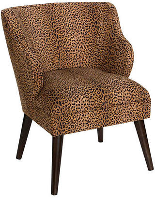 One Kings Lane Kira Chair - Cheetah
