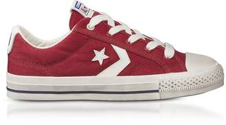 Converse Limited Edition Red Star Player Distressed Ox Canvas Men's Sneakers