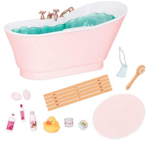 Our Generation Deluxe Bath & Bubbles Tub Set with Sounds