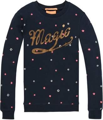 Scotch & Soda Star Print Crew Neck Sweatshirt