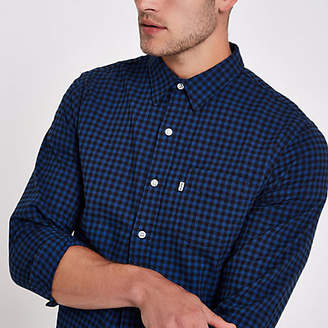 Levi's check print long sleeve shirt
