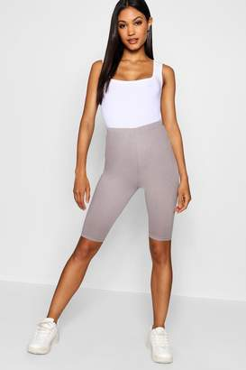 boohoo Cotton Elastane Cycling Short