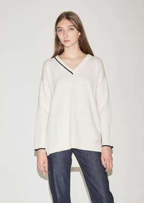 Pringle Cashmere V-Neck with Intarsia Tipping