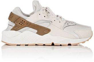 Nike Women's Air Huarache Run Premium Sneakers-LIGHT GREY $130 thestylecure.com