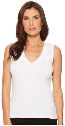Lilla P V-Neck Tank Top Women's Sleeveless