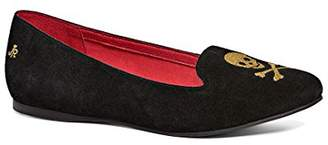 Jack Rogers Women's Skull and Crossbones Ballet Flat
