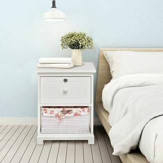 Highland Dunes Telfair 1 Drawer Nightstand Highland Dunes