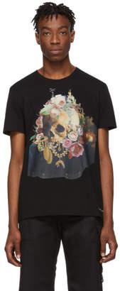 Alexander McQueen Black Still Life Skull T-Shirt