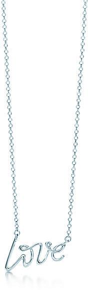 Tiffany & Co. Paloma Picasso®:Love Pendant