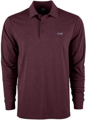 Greg Norman Attack Life by Men's Long-Sleeve Polo
