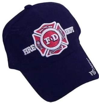 D.E.P.T Ruffin Flag Company Fire Baseball Cap