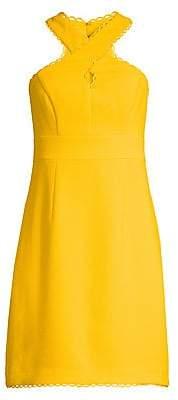 Trina Turk Women's Fantasy Island Rafter Halter Dress