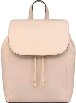 Cath Kidston Shell Pink Saxham Leather Backpack