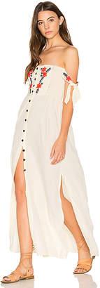 Cleobella Solita Maxi Dress in White $199 thestylecure.com