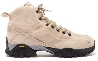 Roa - Andreas Suede Hiking Boots - Mens - Camel