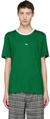 Helmut Lang Green Tokyo Taxi Print T-Shirt