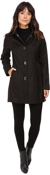 Anne KleinAnne Klein Button Down Raincoat