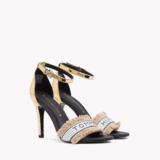 Tommy Hilfiger Mirror Metallic Heeled Sandal