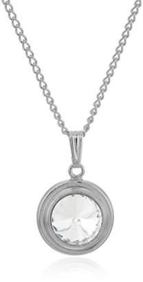 Halos & Glories April Crystal Pendant Necklace