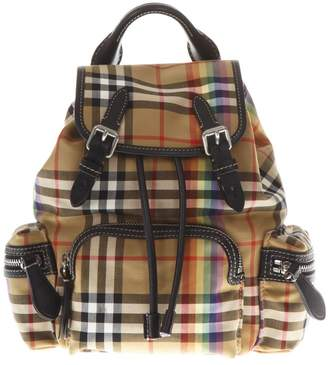 Burberry Multicolor Small Rucksack Nylon Backpack