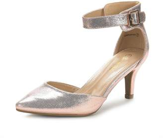 19773c86417 DREAM PAIRS LOWPOINTED New Women s Evening Dress Low Heel Ankle Strap  D Orsay Pointed Toe