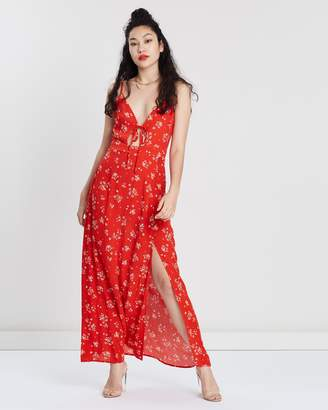 Missguided Floral Cami Maxi Dress