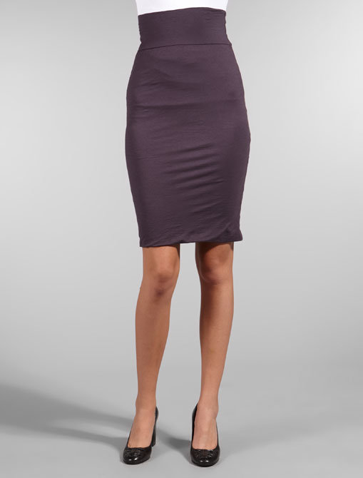 Velvet Gauzy Whisper Sintia Pencil Skirt