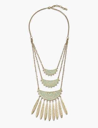 Lucky Brand PATINA STATEMENT NECKLACE