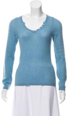 Loro Piana Cashmere Button-Up Sweater