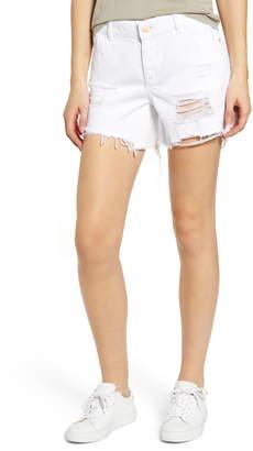 DL1961 Karlie Ripped Boyfriend Shorts