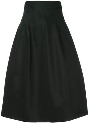 Le Ciel Bleu high waisted flared skirt