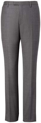 Banana Republic Slim Italian Wool Sharkskin Suit Trouser