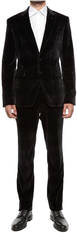Paul Smith Velvet Suit