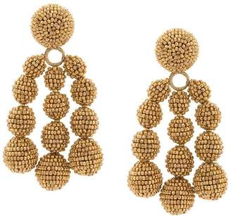 Sachin + Babi beaded knot earrings