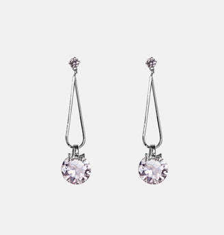 Avenue Teardrop Solitaire Diamond Earrings
