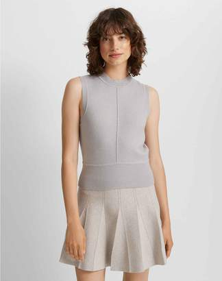 Club Monaco Pleated Sweater Skirt