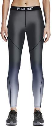 Sunling Quick Dry Compression Pants Stretched Work Out Sport Leggings Tights M-3XL