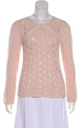 Rebecca Taylor Cashmere Long Sleeve Sweater