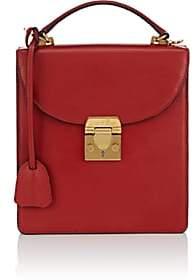 Mark Cross Women's Uptown Leather Crossbody Bag - Red