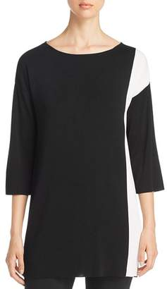 Eileen Fisher Petites Color Block Tunic