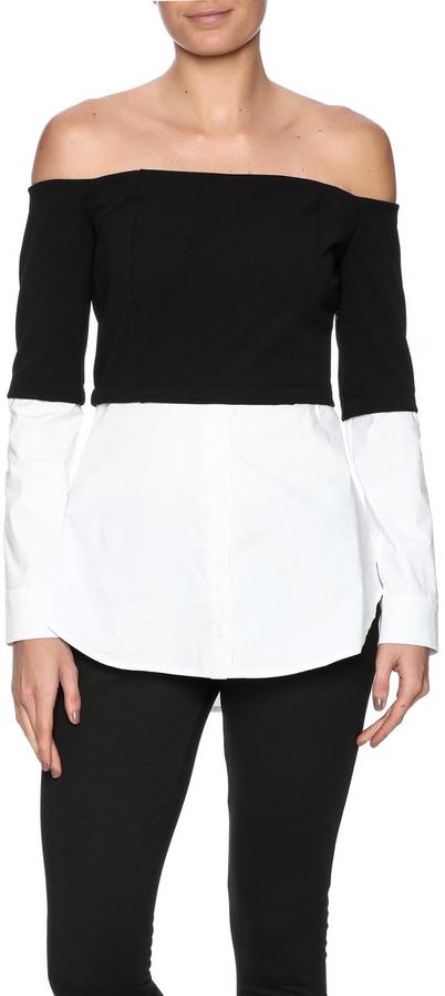 Do & Be Shirt Underlay Top