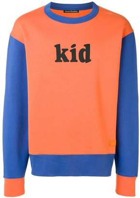 Acne Studios Colourblocked sweatshirt