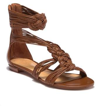Schutz Aija Braided Ankle Strap Sandal