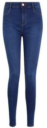 Dorothy Perkins Womens Indigo 'Frankie' Super Skinny Jeans