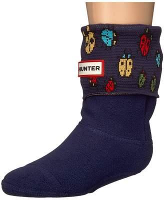 Hunter Original Boot Socks Ladybird Kids Shoes