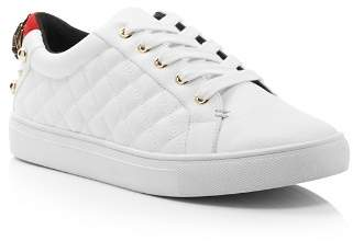Kurt Geiger Women's Ludo Leather Lace Up Sneakers