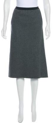 Marc Jacobs Wool-Blend Knee-Length Skirt